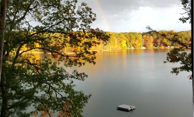 2018 Cub Lake rainbow